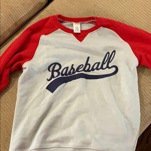 Other - Gymboree baseball sweatshirt size large (10-12)